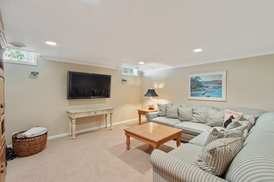 Real Estate Photography - 920 Church, Lake Forest, IL, 60045 - Basement