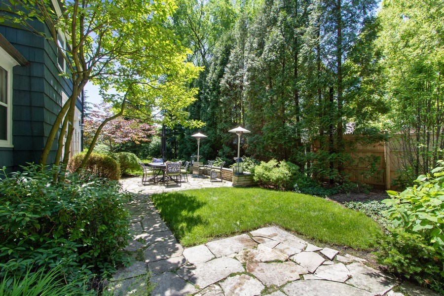 Real Estate Photography - 920 Church, Lake Forest, IL, 60045 - Back Yard