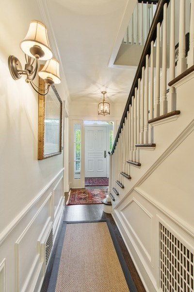 Real Estate Photography - 920 Church, Lake Forest, IL, 60045 - Foyer