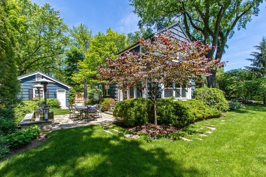 Real Estate Photography - 920 Church, Lake Forest, IL, 60045 - Rear View