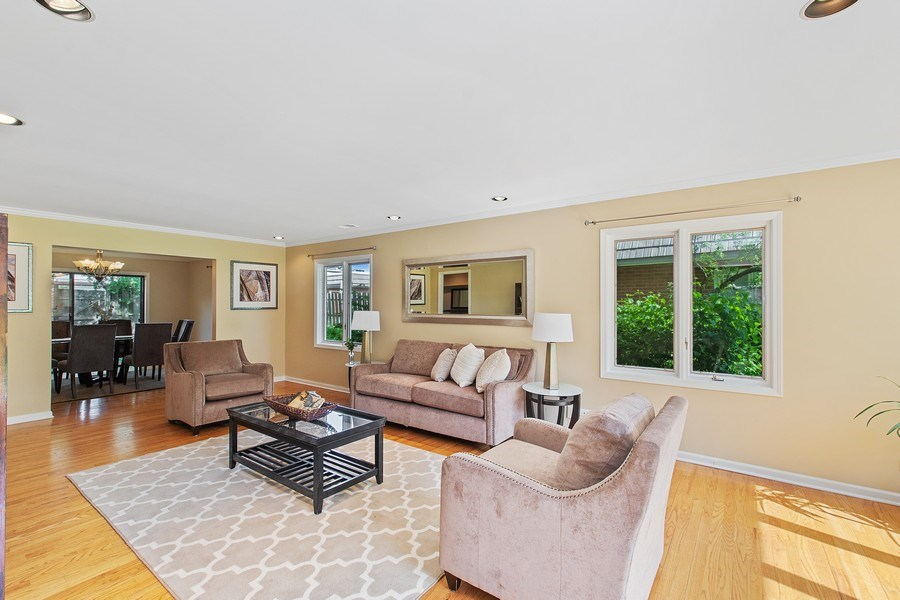 Real Estate Photography - 726 Lorraine, Highland Park, IL, 60035 - Living Room