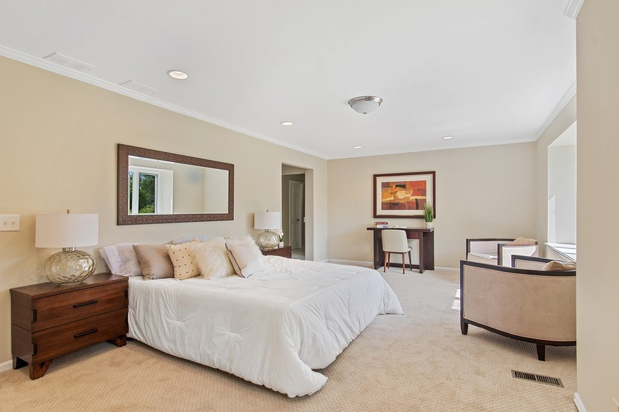 Real Estate Photography - 726 Lorraine, Highland Park, IL, 60035 - Master Bedroom