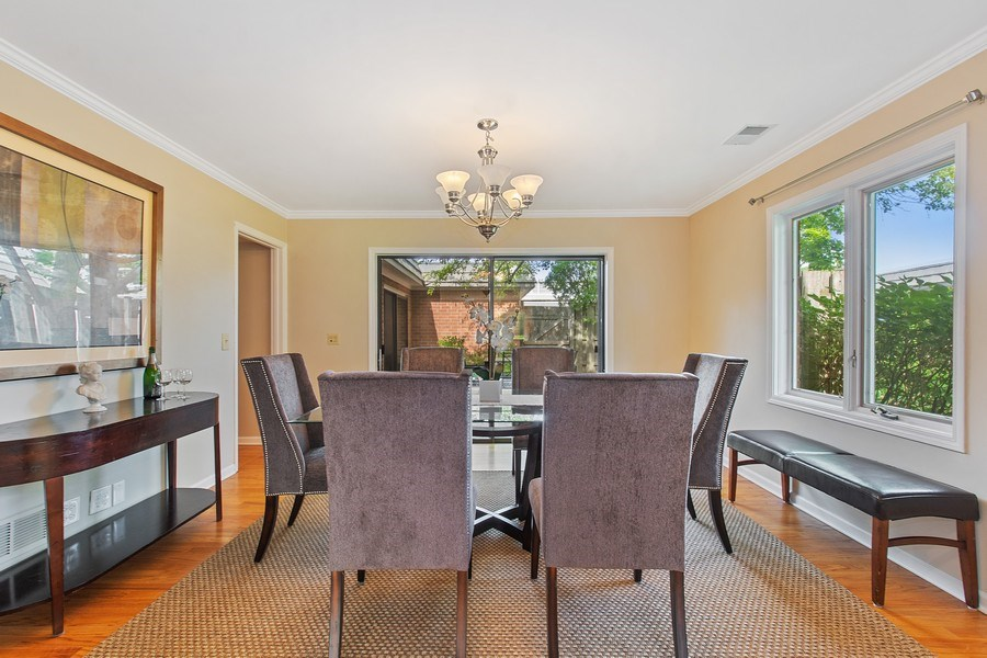 Real Estate Photography - 726 Lorraine, Highland Park, IL, 60035 - Dining Room