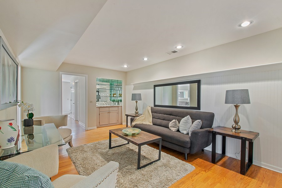 Real Estate Photography - 726 Lorraine, Highland Park, IL, 60035 - Family Room