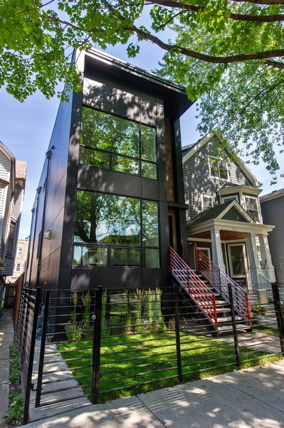 Real Estate Photography - 3917 N Marshfield Ave, Chicago, IL, 60613 - Front View