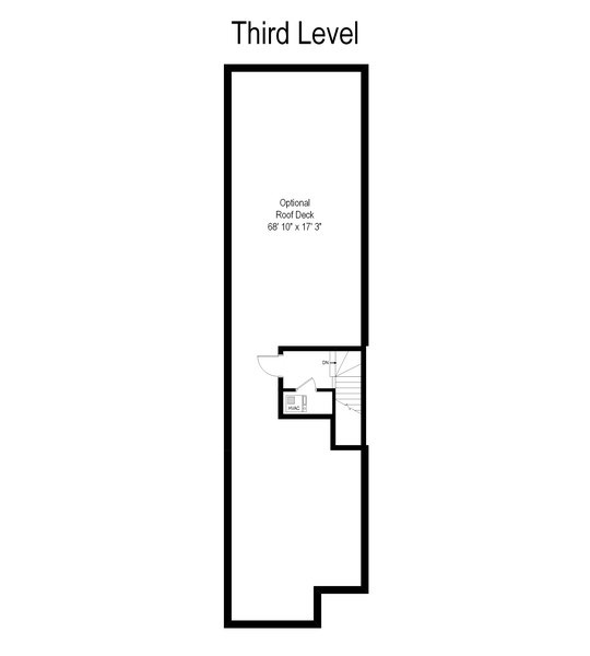 Real Estate Photography - 3917 N Marshfield Ave, Chicago, IL, 60613 - Floor Plan
