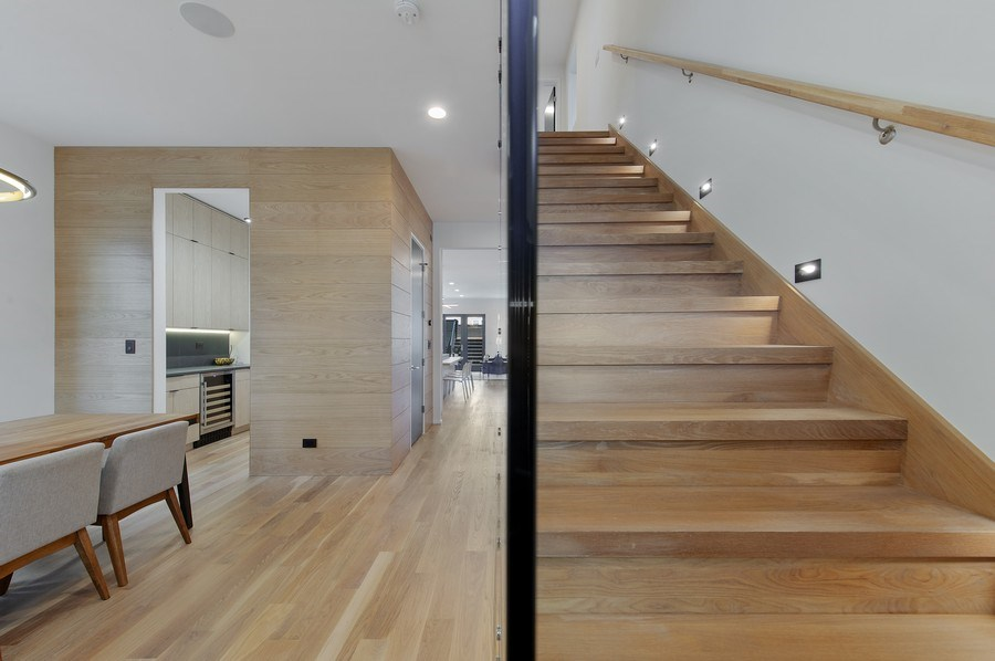 Real Estate Photography - 3917 N Marshfield Ave, Chicago, IL, 60613 - Staircase