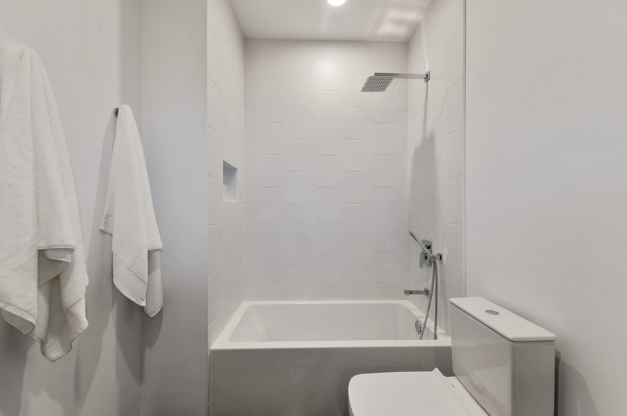 Real Estate Photography - 3917 N Marshfield Ave, Chicago, IL, 60613 - 2nd Bathroom