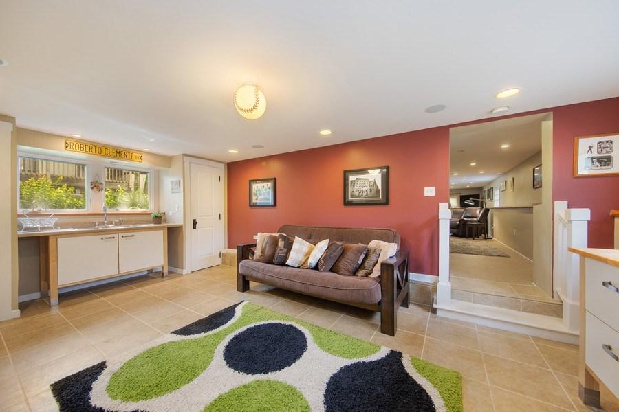 Real Estate Photography - 391 Shenshone, Riverside, IL, 60546 - Lower Level