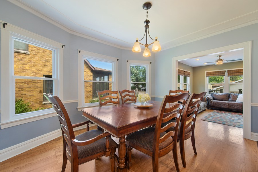 Real Estate Photography - 391 Shenshone, Riverside, IL, 60546 - Dining Room