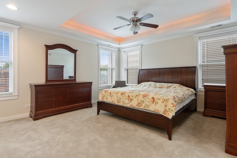 Real Estate Photography - 3702 N Bell, Chicago, IL, 60618 - Master Bedroom