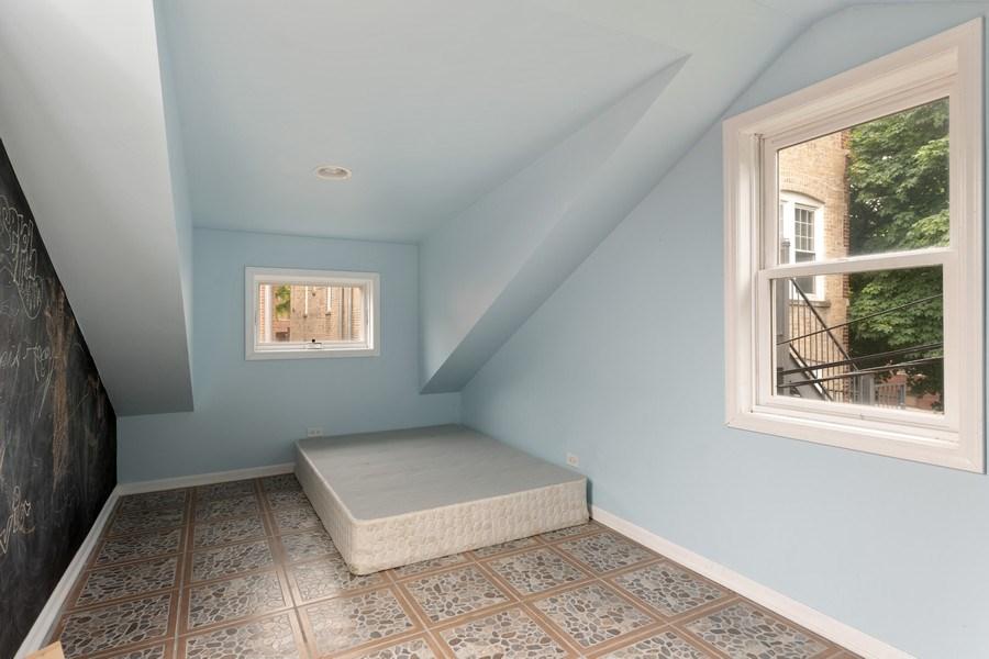 Real Estate Photography - 3702 N Bell, Chicago, IL, 60618 - Garage Bonus Room