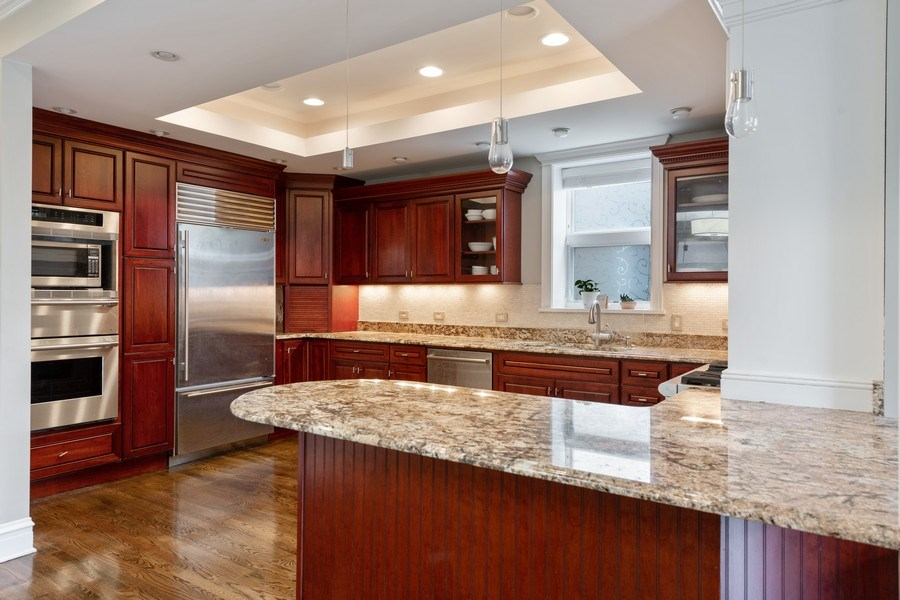 Real Estate Photography - 3702 N Bell, Chicago, IL, 60618 - Kitchen
