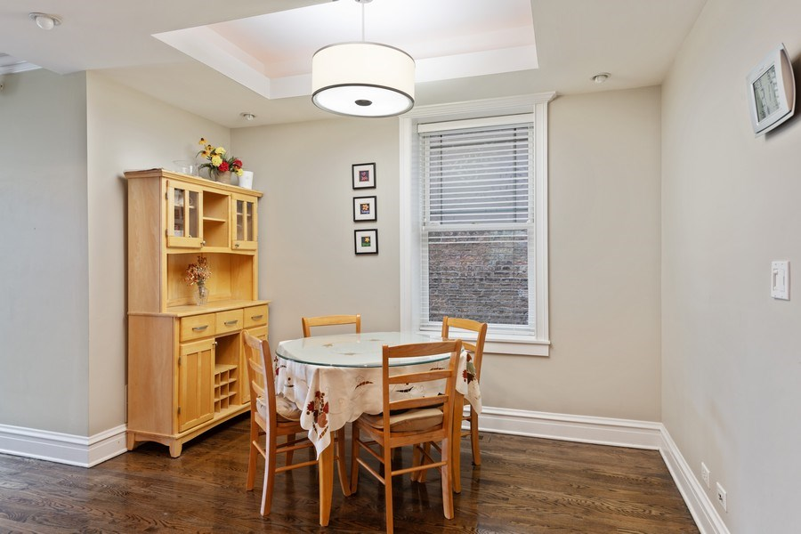 Real Estate Photography - 3702 N Bell, Chicago, IL, 60618 - Breakfast Area