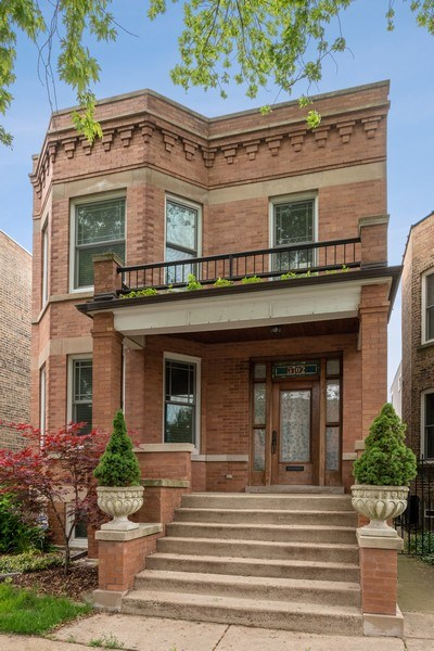 Real Estate Photography - 3702 N Bell, Chicago, IL, 60618 - Front View