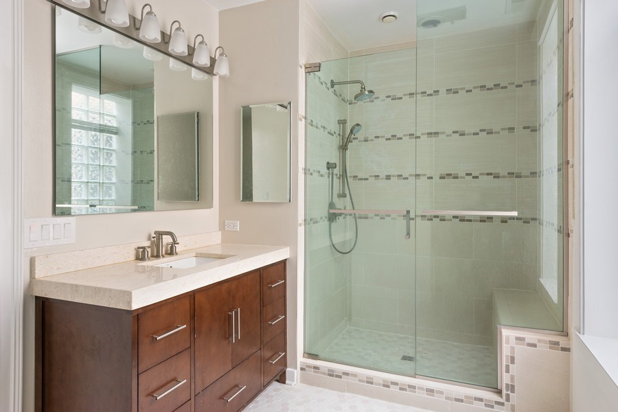 Real Estate Photography - 3702 N Bell, Chicago, IL, 60618 - Bathroom