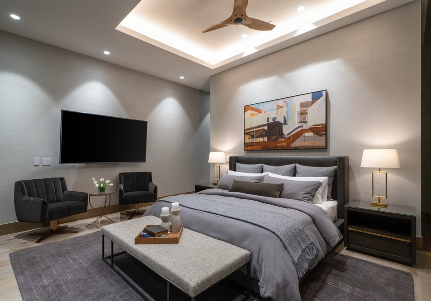 Real Estate Photography - 1140 N Wells, PH, Chicago, IL, 60610 - Master Bedroom