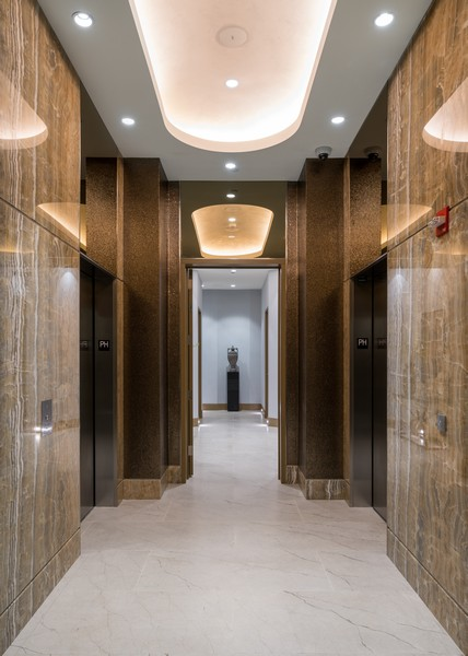Real Estate Photography - 1140 N Wells, PH, Chicago, IL, 60610 - Arrival Lobby