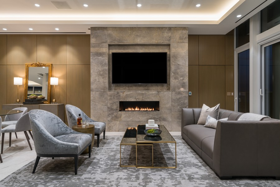 Real Estate Photography - 1140 N Wells, PH, Chicago, IL, 60610 - Formal Living