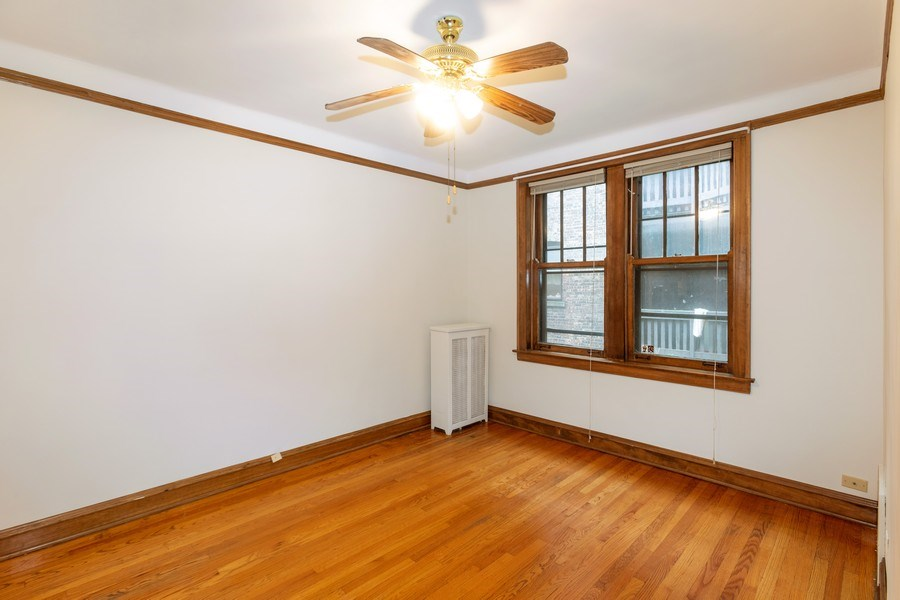 Real Estate Photography - 5449 S East View Park, Unit 1, Chicago, IL, 60615 - Bedroom