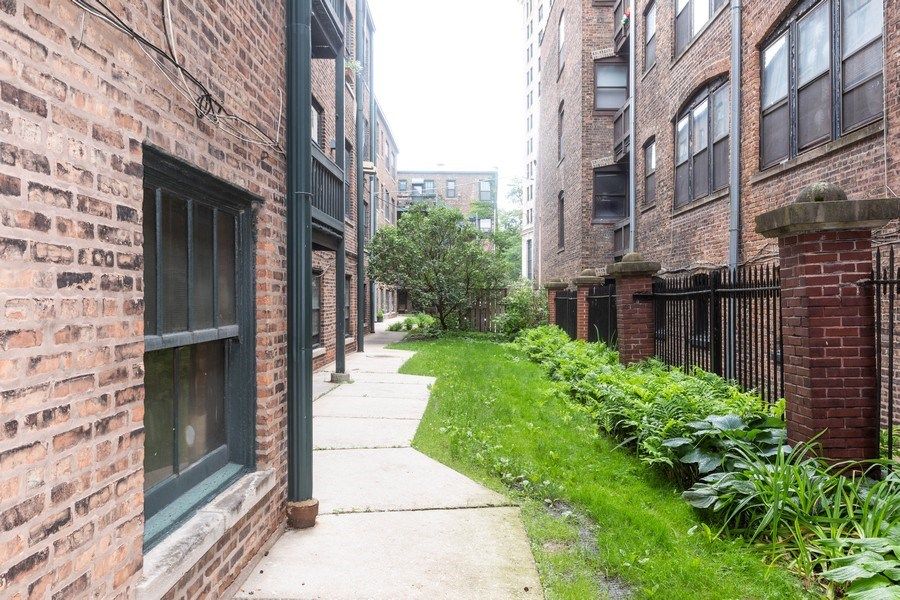 Real Estate Photography - 5449 S East View Park, Unit 1, Chicago, IL, 60615 - Back Yard