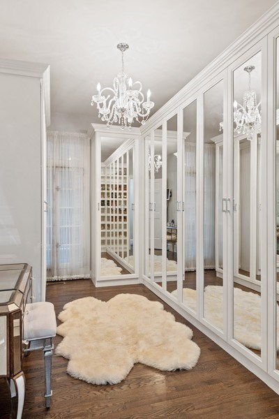Real Estate Photography - 31 E Elm, 1B, Chicago, IL, 60611 - 3rd bedroom currently custom walk-in closet