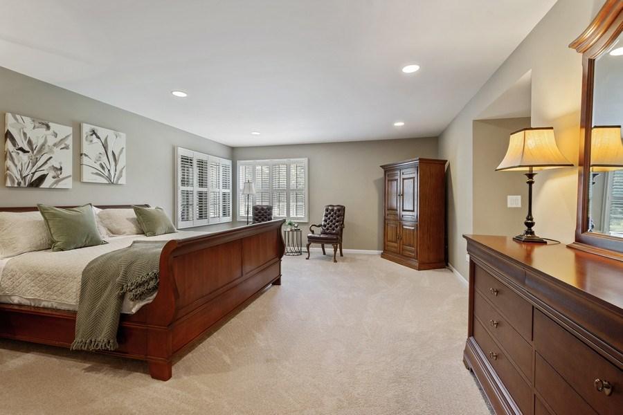 Real Estate Photography - 23443 Mallard Court, Deer Park, IL, 60010 - Master Bedroom