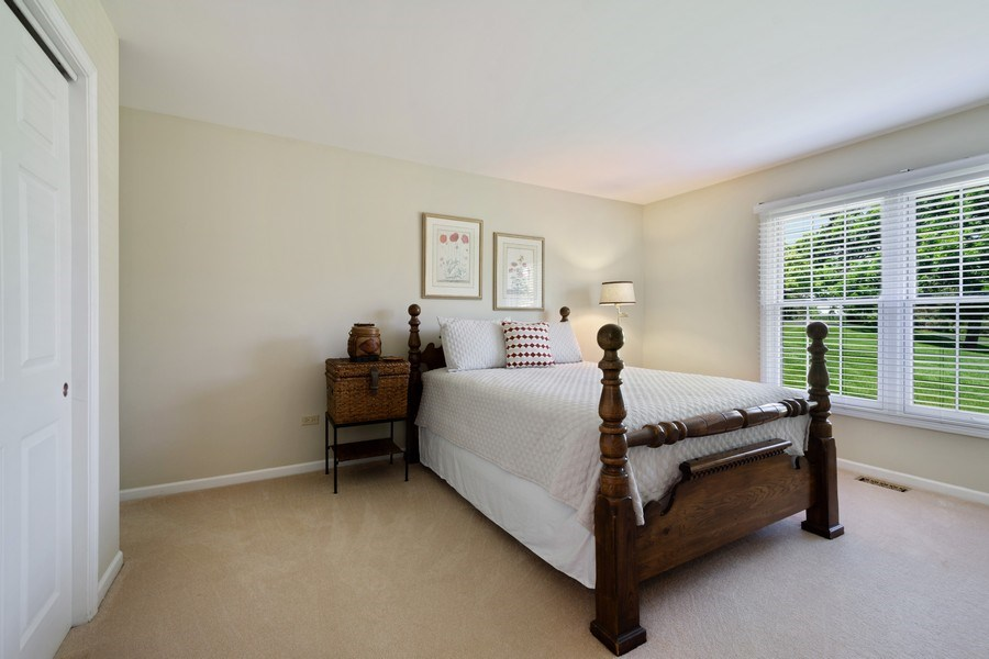 Real Estate Photography - 23443 Mallard Court, Deer Park, IL, 60010 - 2nd Bedroom