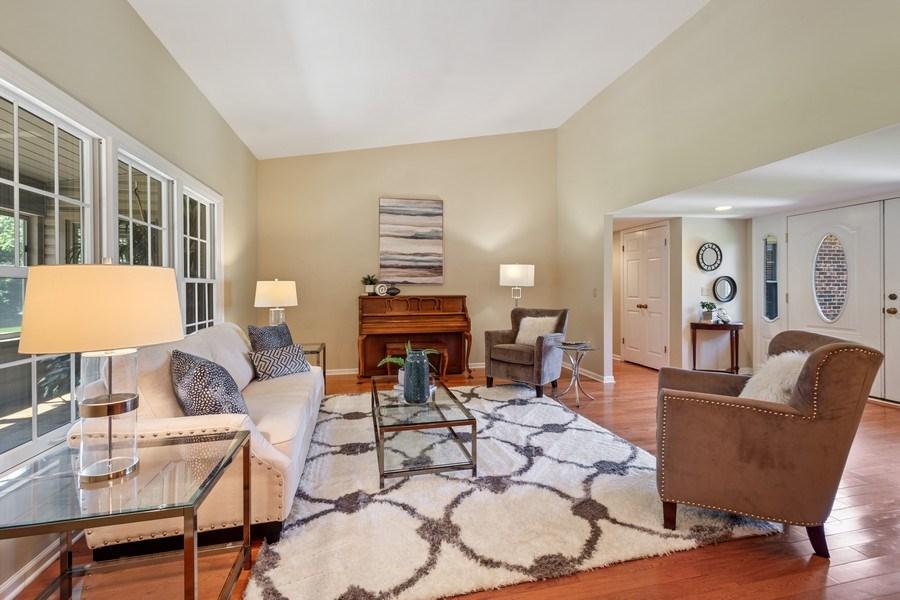 Real Estate Photography - 23443 Mallard Court, Deer Park, IL, 60010 - Living Room