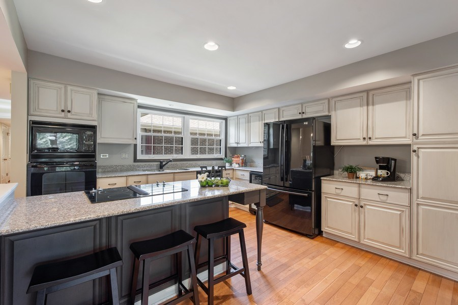 Real Estate Photography - 23443 Mallard Court, Deer Park, IL, 60010 - Kitchen