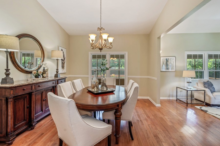 Real Estate Photography - 23443 Mallard Court, Deer Park, IL, 60010 - Dining Room