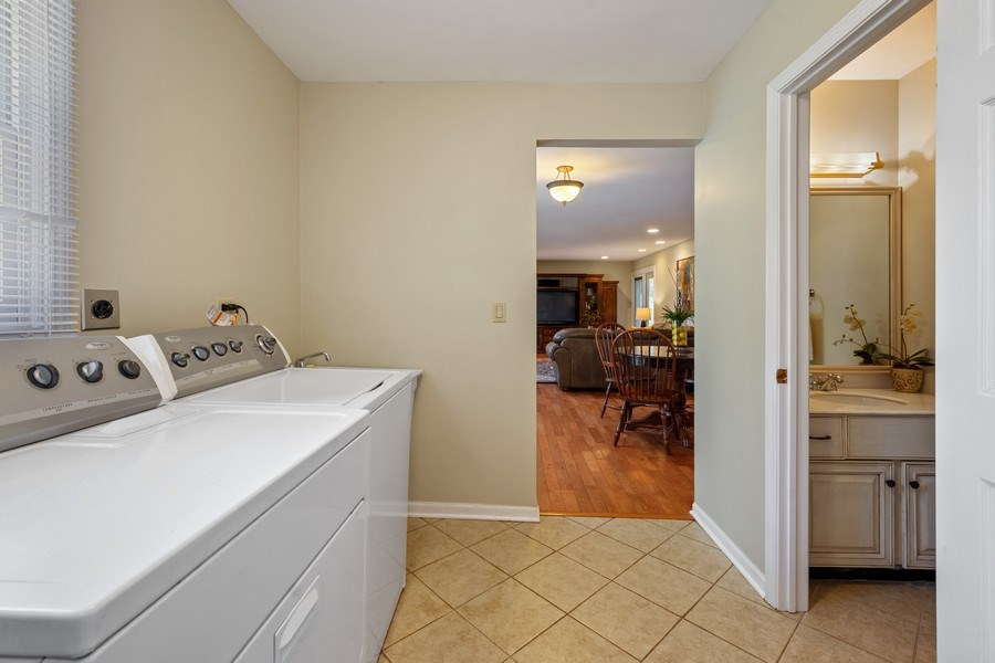 Real Estate Photography - 23443 Mallard Court, Deer Park, IL, 60010 - Laundry Room