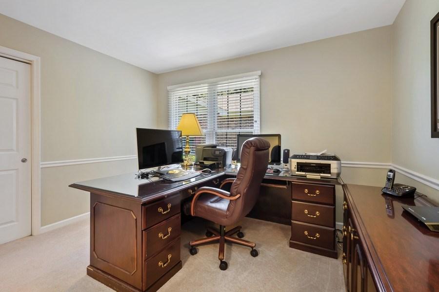 Real Estate Photography - 23443 Mallard Court, Deer Park, IL, 60010 - Office
