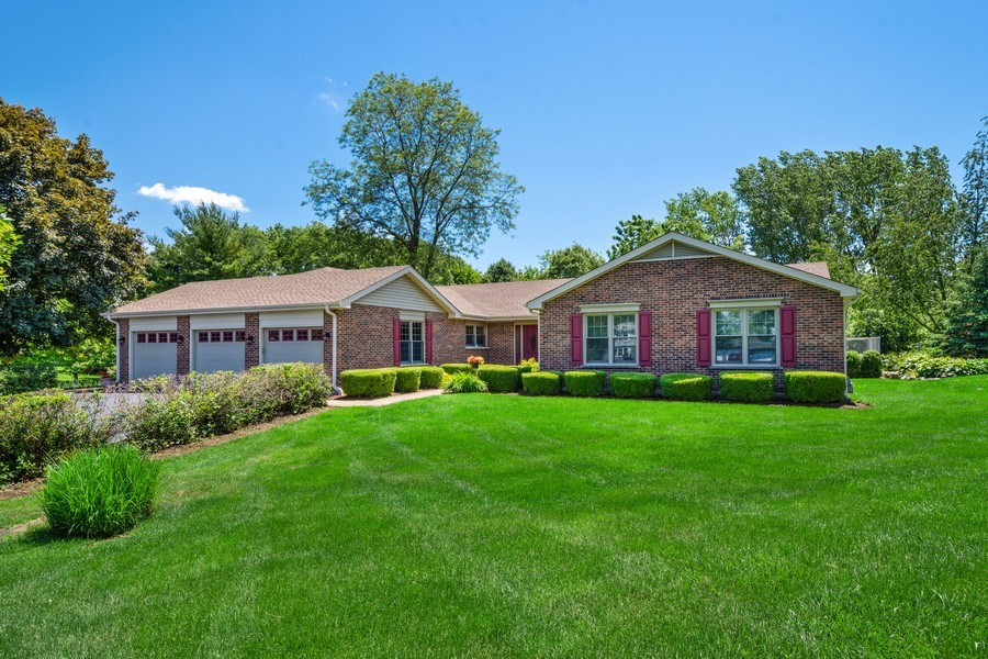 Real Estate Photography - 23443 Mallard Court, Deer Park, IL, 60010 - Front View