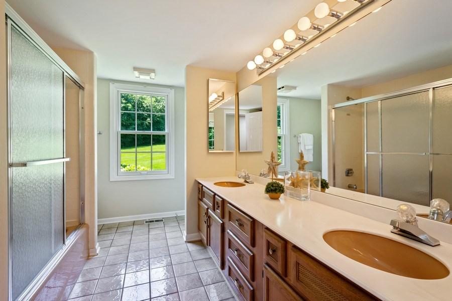 Real Estate Photography - 23443 Mallard Court, Deer Park, IL, 60010 - Bathroom