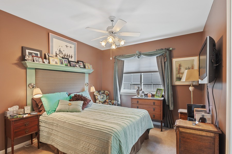 Real Estate Photography - 1140 Hillside Ave, Antioch, IL, 60002 - 2nd Bedroom