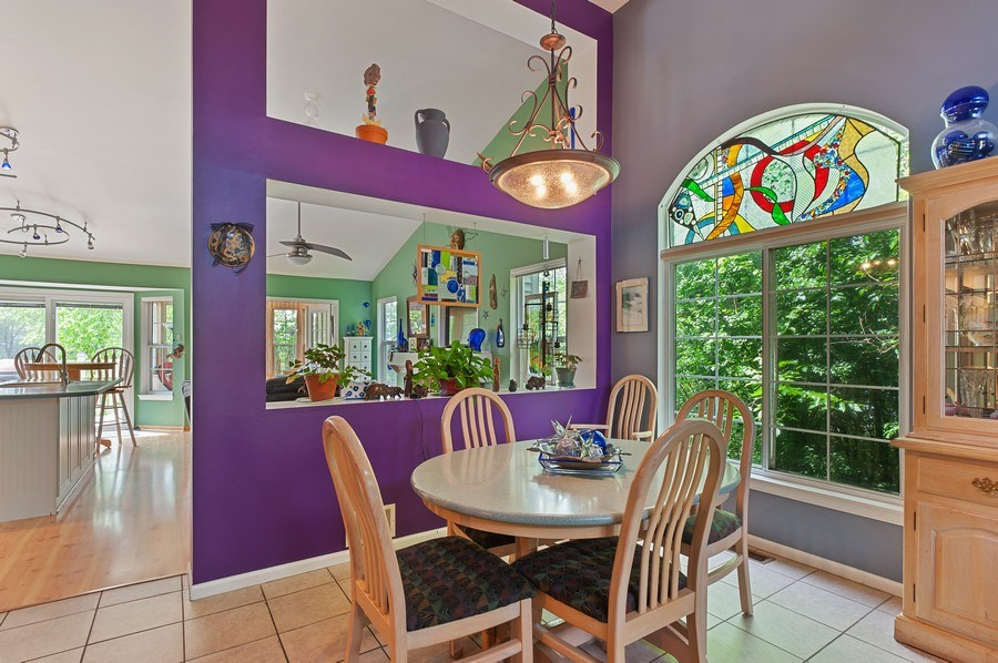 Real Estate Photography - 1140 Hillside Ave, Antioch, IL, 60002 - Dining Area