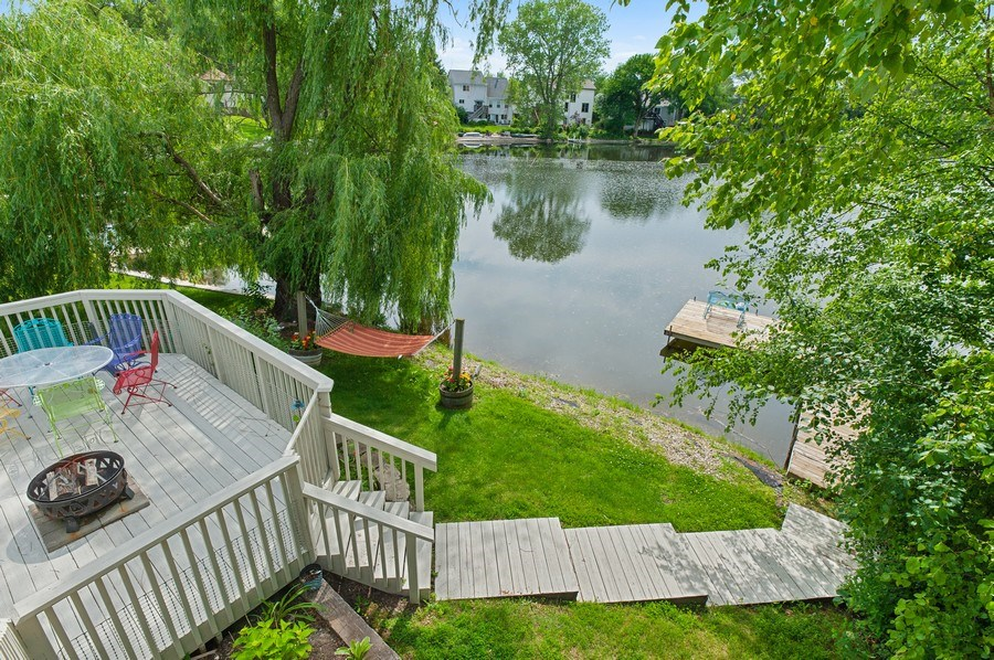 Real Estate Photography - 1140 Hillside Ave, Antioch, IL, 60002 - Deck