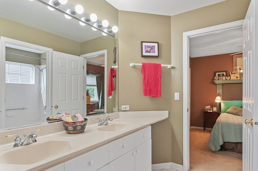 Real Estate Photography - 1140 Hillside Ave, Antioch, IL, 60002 - Bathroom