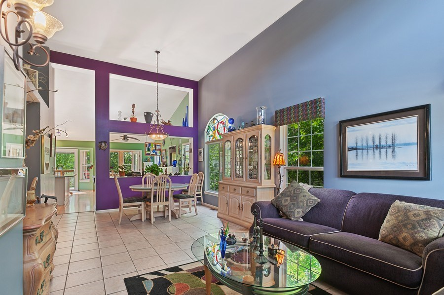 Real Estate Photography - 1140 Hillside Ave, Antioch, IL, 60002 - Living Room / Dining Room