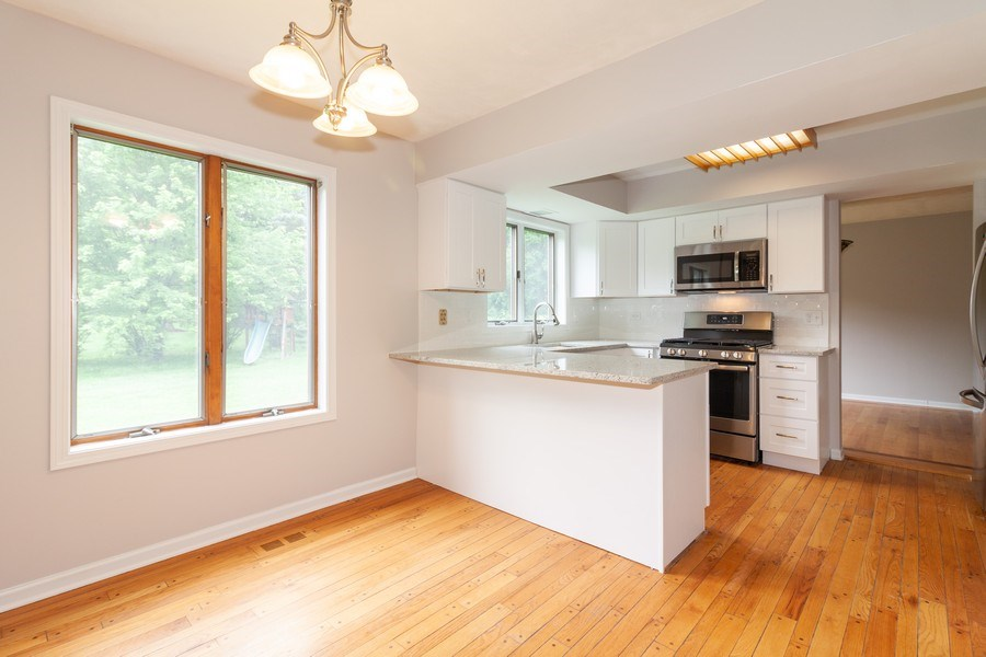 Real Estate Photography - 236 N. Hickory, Bartlett, IL, 60103 - Kitchen / Breakfast Room