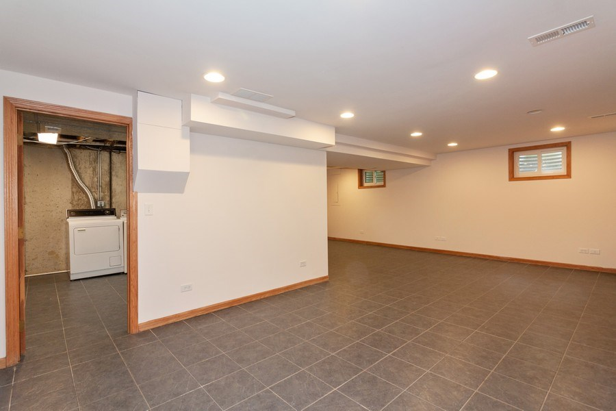 Real Estate Photography - 236 N. Hickory, Bartlett, IL, 60103 - Basement