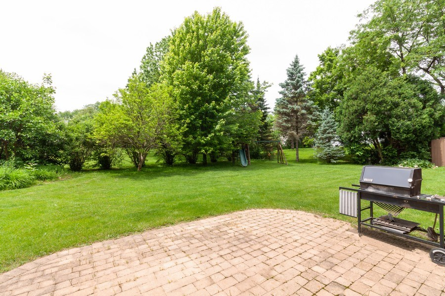 Real Estate Photography - 236 N. Hickory, Bartlett, IL, 60103 - Back Yard