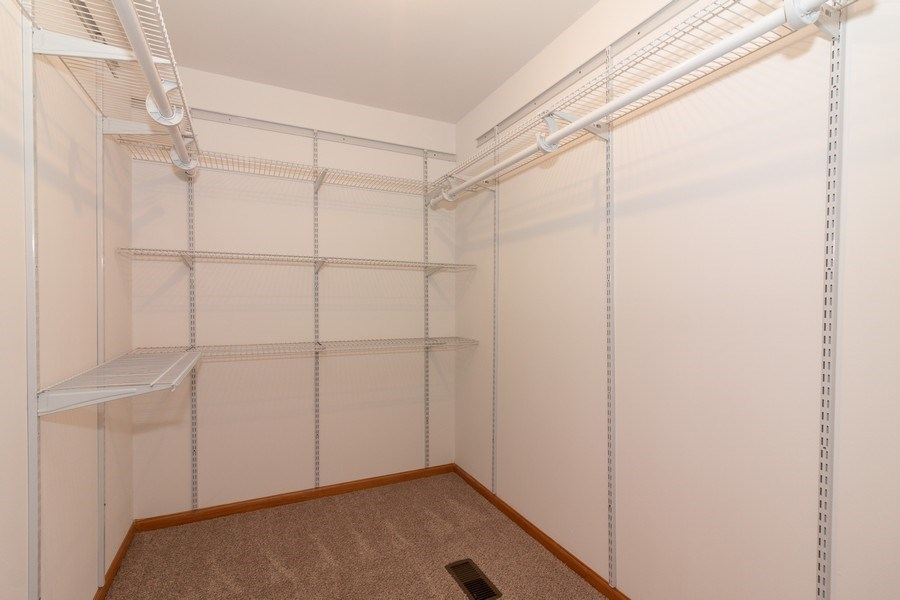 Real Estate Photography - 236 N. Hickory, Bartlett, IL, 60103 - Master Closet