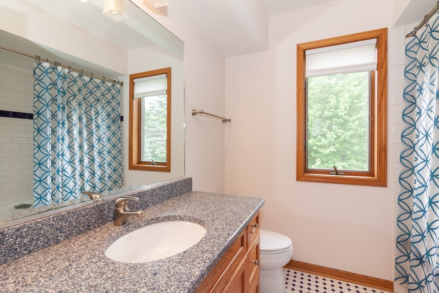 Real Estate Photography - 236 N. Hickory, Bartlett, IL, 60103 - Bathroom