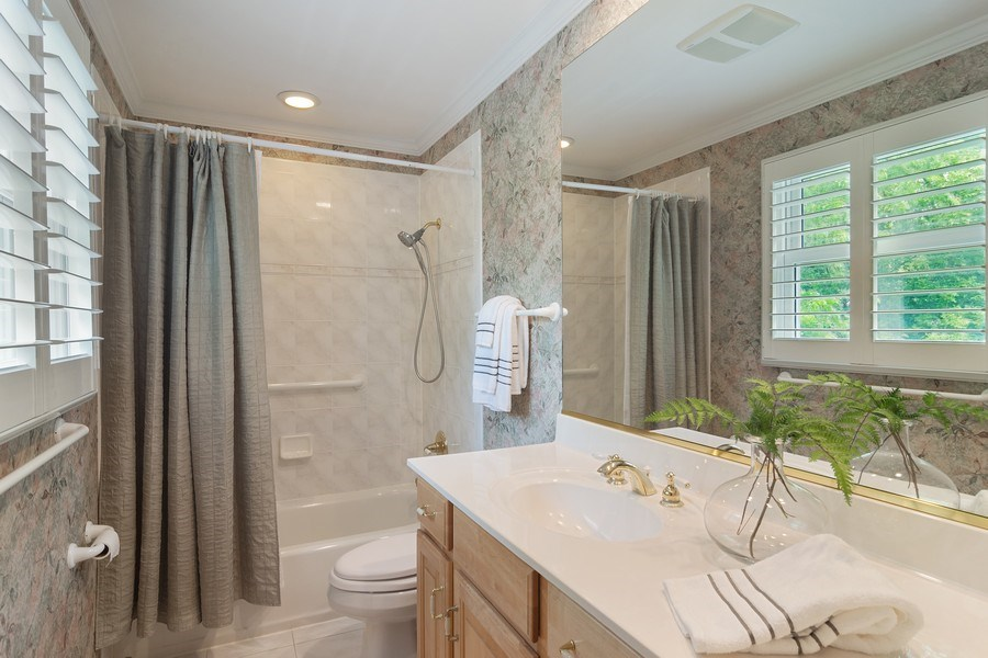 Real Estate Photography - 990 Commonwealth Ct, Barrington, IL, 60010 - Master Bathroom