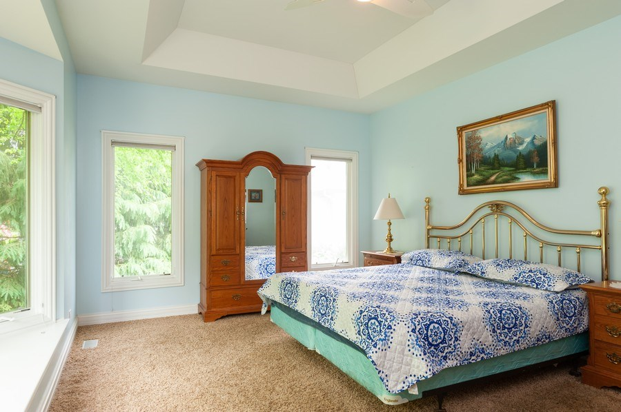 Real Estate Photography - 2520 Emerald Ln, Lindenhurst, IL, 60046 - Master Bedroom