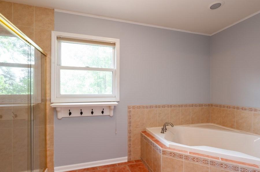 Real Estate Photography - 711 Wood Creek Court, Island Lake, IL, 60042 - Master Bathroom