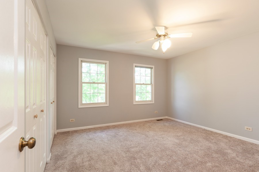 Real Estate Photography - 711 Wood Creek Court, Island Lake, IL, 60042 - 1st Bedroom 2nd Level
