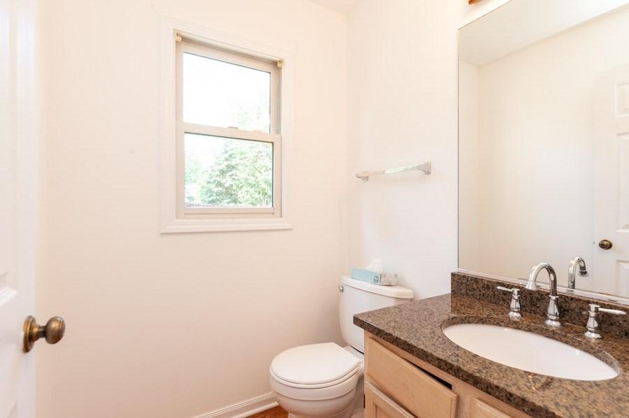 Real Estate Photography - 711 Wood Creek Court, Island Lake, IL, 60042 - Half Bath Main Level
